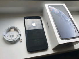 iPhone XR Black 64gb Unlocked Apple in Great Condition with Charger