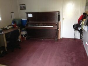 Older stand up piano to give away