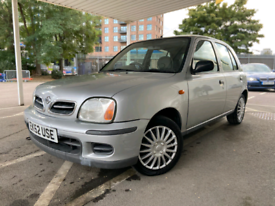 2002 NISSAN MICRA AUTOMATIC 47K LOW MILES