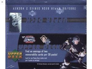 05/06 UD Hockey- Series Two- 30 Pack Sealed Box
