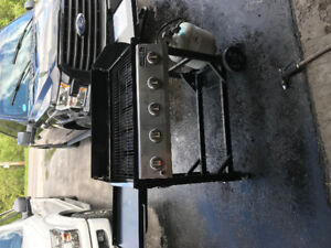 Large Propane Tailgating Grill