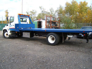 2005 Hino flatbed car carrier