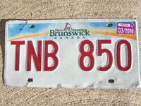 Found Licence Plate TNB 850