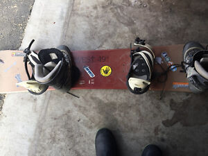 Board , bindings , and boots 10-1/2""