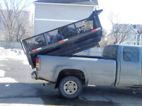 8 foot slide in dump box