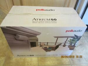Polk Audio Atrium 50 All Weather Speakers (Pair, Black)