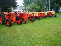 Tracteurs de collection CASE