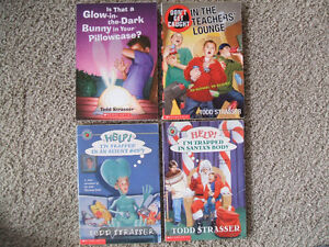 Box of 18 children's books-Sachar, Spinelli, Strasser, Clements London Ontario image 3
