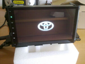 2014 to 2017 toyota highlander gps android bt mp5 system