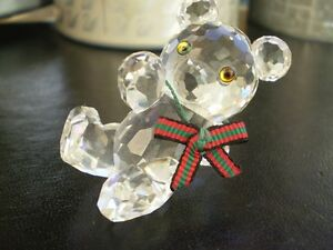 "Swarovski Crystal Figurines -"" Large Snail "" and "" Kris Bear "" Kitchener / Waterloo Kitchener Area image 6"