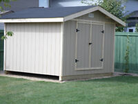 8 foot x 8 foot shed