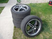 Audi wheels and tires