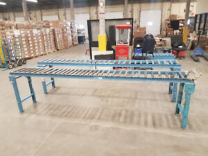 Roller Conveyor belt / section de convoyeur ( 6 x 10' )