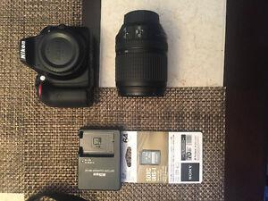 Nikon D3300 DSLR w/ 18-140mm Lens