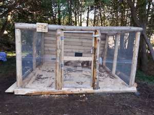 Hand made chicken coops