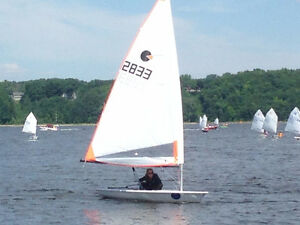 Voilier, dériveur, Byte, sailboat