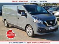 2020 Nissan NV300 Nv300 L2 H1 Tekna 2.0 120ps Panel Van Diesel **NEW VAN** 2.0 P