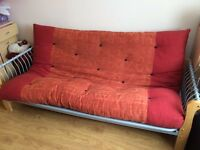 Three seater settee / futon double bed