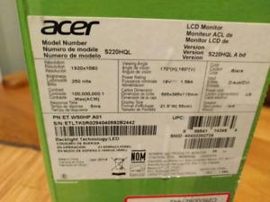 Acer full hd monitor