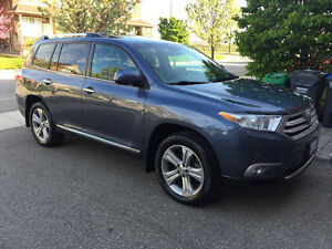2013 Toyota Highlander Limited SUV, Crossover