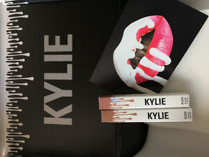 Kylie cosmetic: candy k and exposed glosses