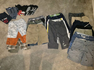 Large lot of boys' shorts, size 5, 6-8 and 10-12 $2 per piece