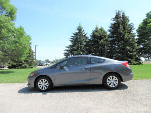 2012 Honda Civic LX Coupe- Automatic w/ Just 136K!!  ($48/week)