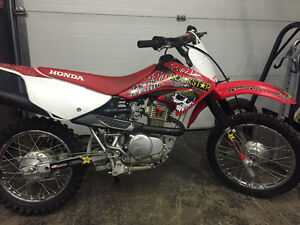 2013 CRF 80. With ownership