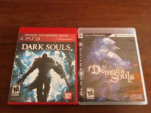 Selling Demon's Souls and Dark Souls for PS3