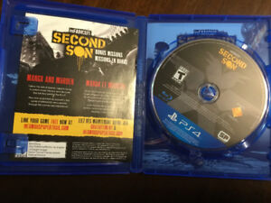 Limited Edition Second Son PS4 game