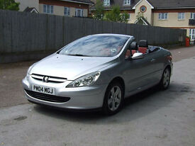 Peugeot 307 CC 2.0 16v Coupe Convertible**FANTASTIC CONDITION**LOW MILEAGE**FSH