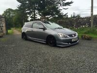 Honda Civic ep3 type r parts