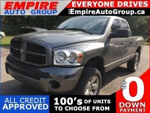 2007 DODGE RAM PICKUP 1500 LARAMIE * 4WD * POWER GROUP