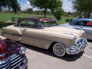 1953 - 1954 Chevy Fenders Skirts and Bumpers (Parts Only!)