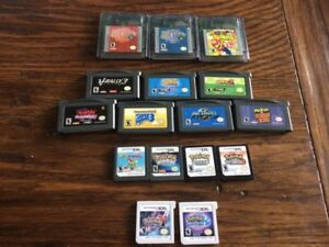 3DS / DS / GBA / GBC games for sale