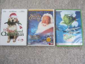 Christmas Movies on DVD - 3 To Choose From