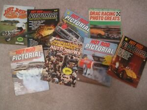 Magazines, collectible from early 1960's, automobile