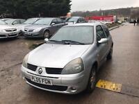 Renault Clio 1.4 16v Extreme 4 3 DOOR - 2005 05-REG - 11 MONTHS MOT