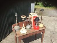 Selection of Tilley lamps