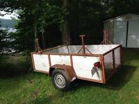 Utility Trailer Recently Safety Inspected