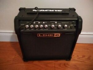Line 6 guitar amp  15W  Like New