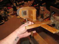 antique stereoscope with slides. Circa 1902