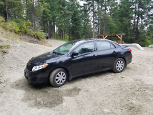 2010 toyota Corolla with manual transmission