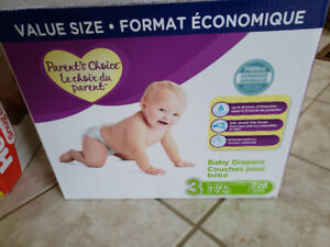 Baby diapers size 3