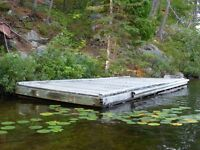 20' by 8' Floating Dock