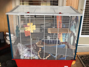 Pet cage for rabbit , hamsters, rats