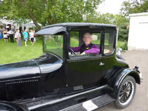 Ford Coupe - Beautiful 1926