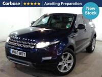 2013 LAND ROVER RANGE ROVER EVOQUE 2.2 eD4 Pure 5dr [Tech Pack] 2WD