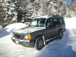 2000 Land Rover Discovery SUV, Crossover