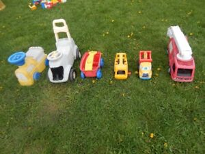 jouet camion-tondeuse pour enfant